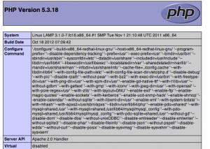 php-lam-stack-fedora