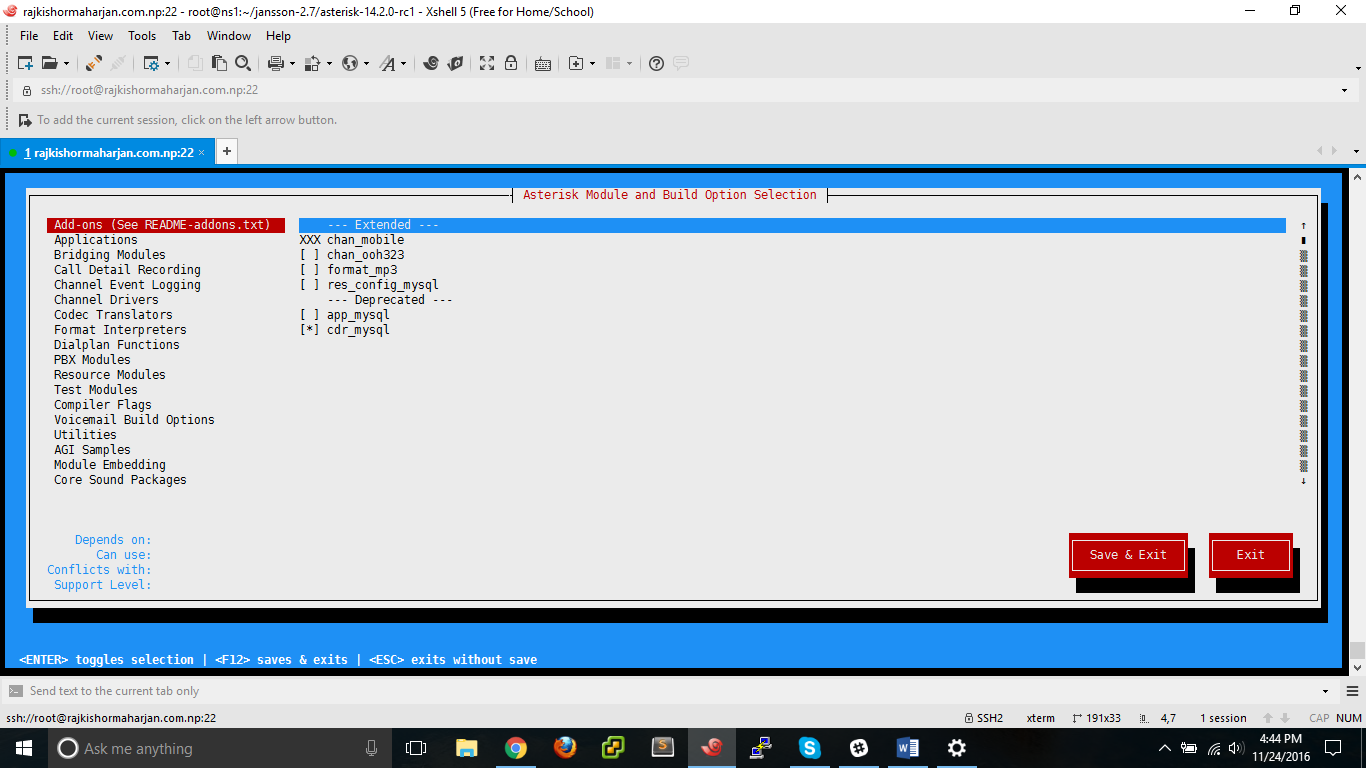 How to install and setup Asterisk 14 (PBX) on CentOS 7 | CloudatCost
